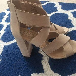 Shoes - Nude heels! NWOT